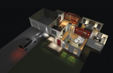 Lutron smart lighting system in entire house